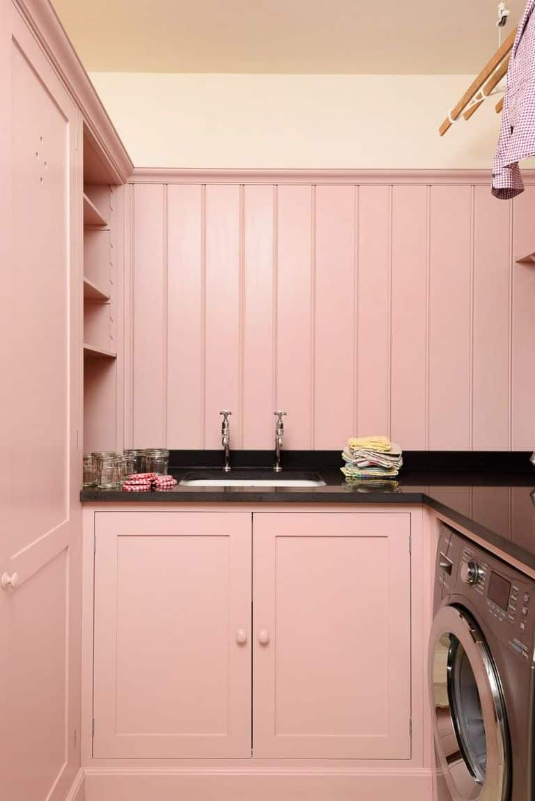 Pinky Laundry Room Paint Colors