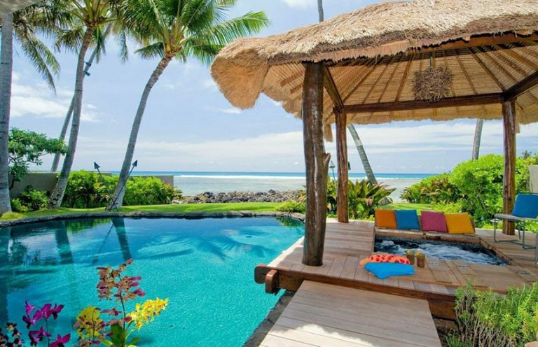 Pool Cabana Ideas By The Sea