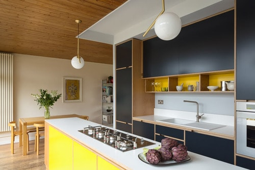 Pop Up Mid Century Modern Kitchen