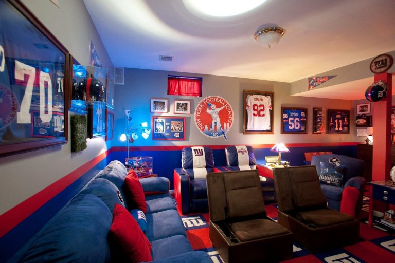 Rec Room for Sports Enthusiast
