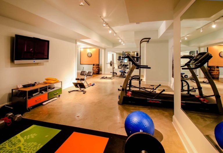 Rec Room with Private Gym