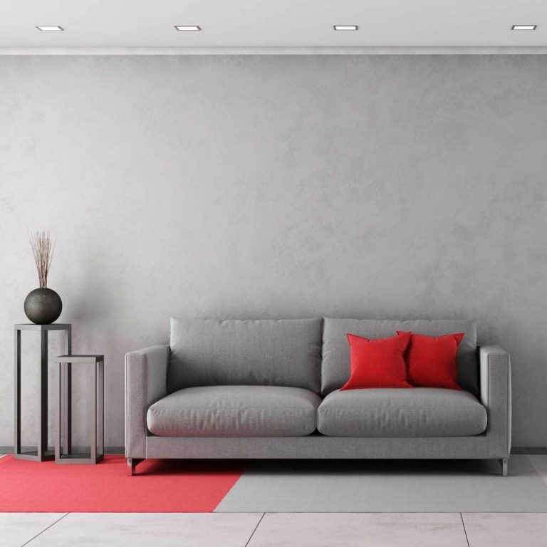 Red Pillow Ideas For A Gray Couch