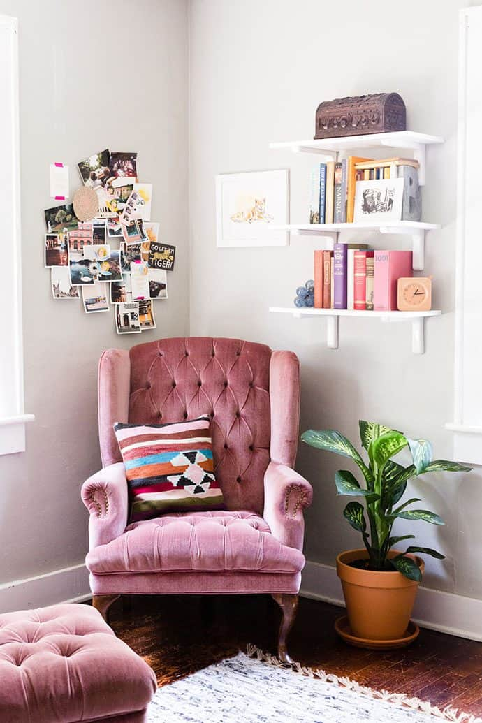 Retro Furniture for Reading Room