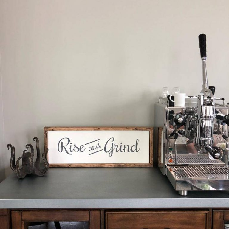 Farmhouse Coffee Bar Framed Sign