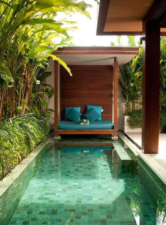 Romantic Pool Cabana Ideas