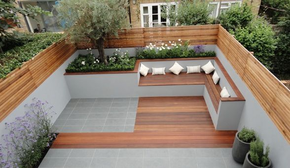 Rooftop Deck with Bench