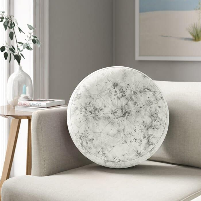 Round Pillow Ideas For A Gray Couch