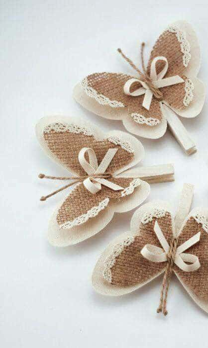 Rustic Butterfly Decorations