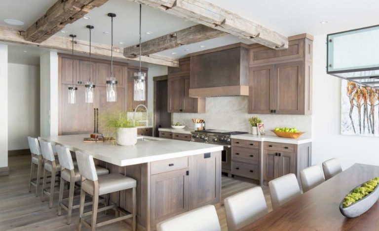 Rustic Kitchen Wall Cabinet