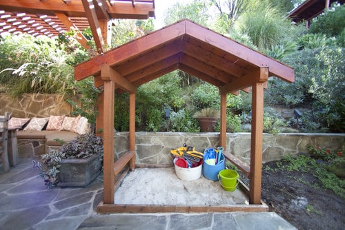 Backyard Sandbox Idea