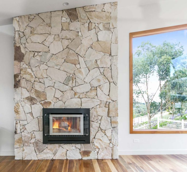 Casual Sandstone Fireplace Tiles