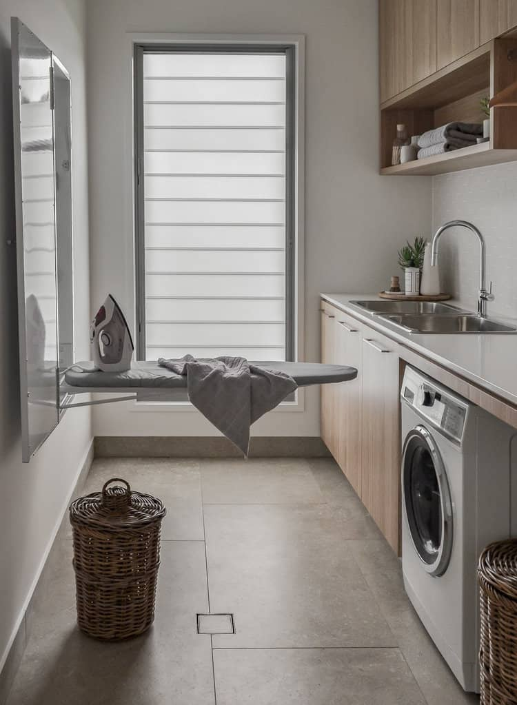 Scandi Laundry Room