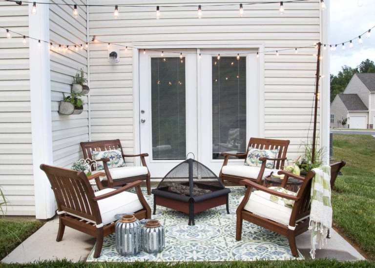 Seating Spot In The Backyard Ideas