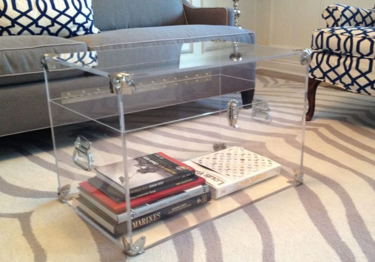 See-through Storage and Coffee Table