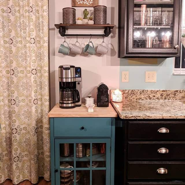 Simple Home Coffee Station Ideas