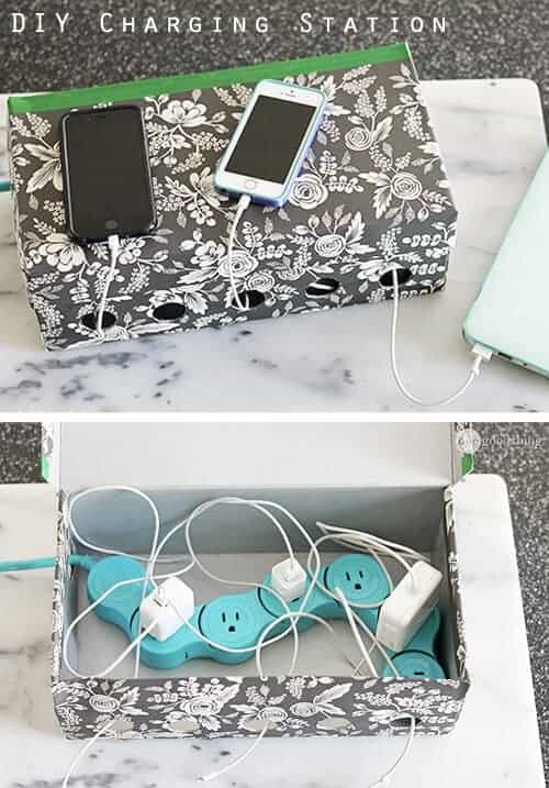 Simple DIY Family Charging Station