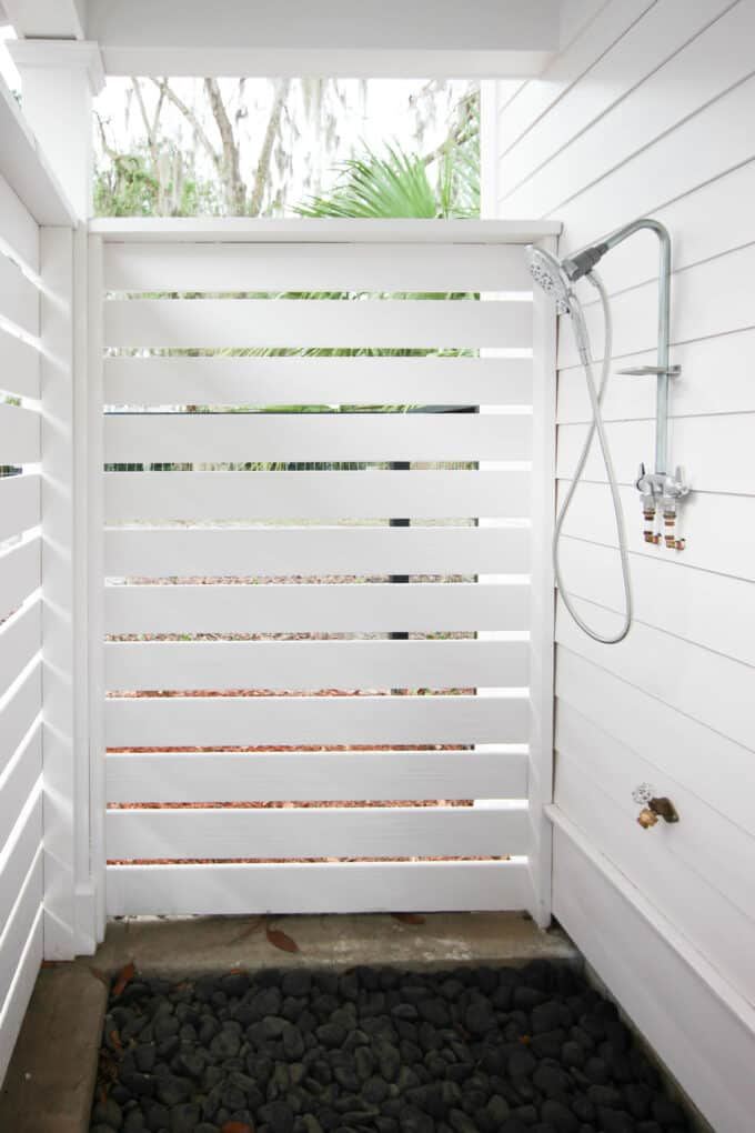 Simple DIY Outdoor Shower