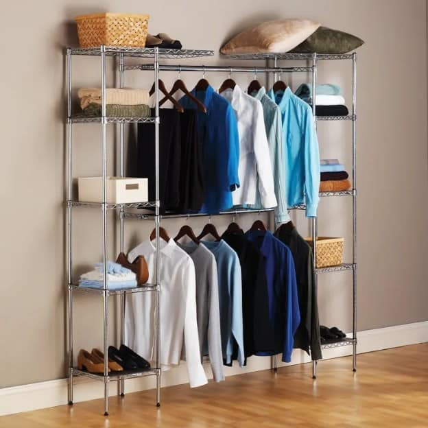 Simple Diy Closet Organizer