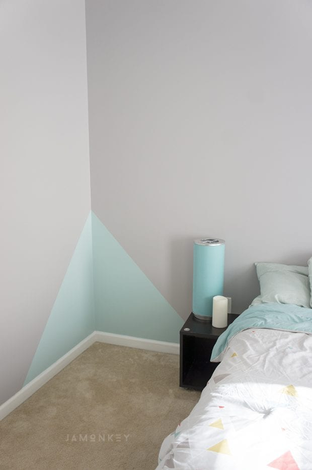 Simple Geometric Wall Paint