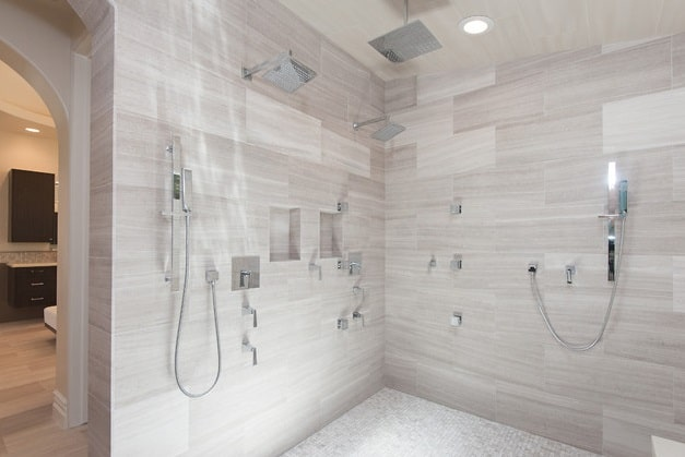 Simple Modern Shower