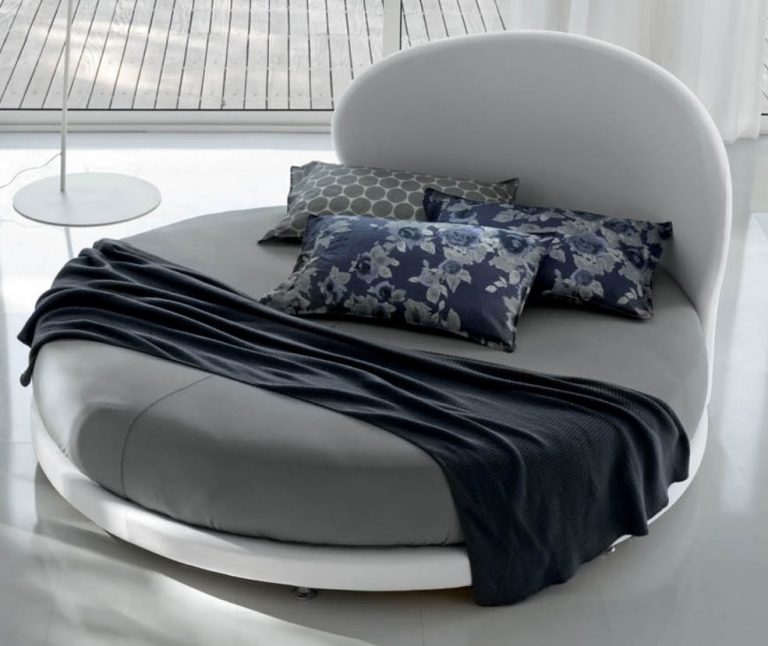 Simple Round Cool Bed