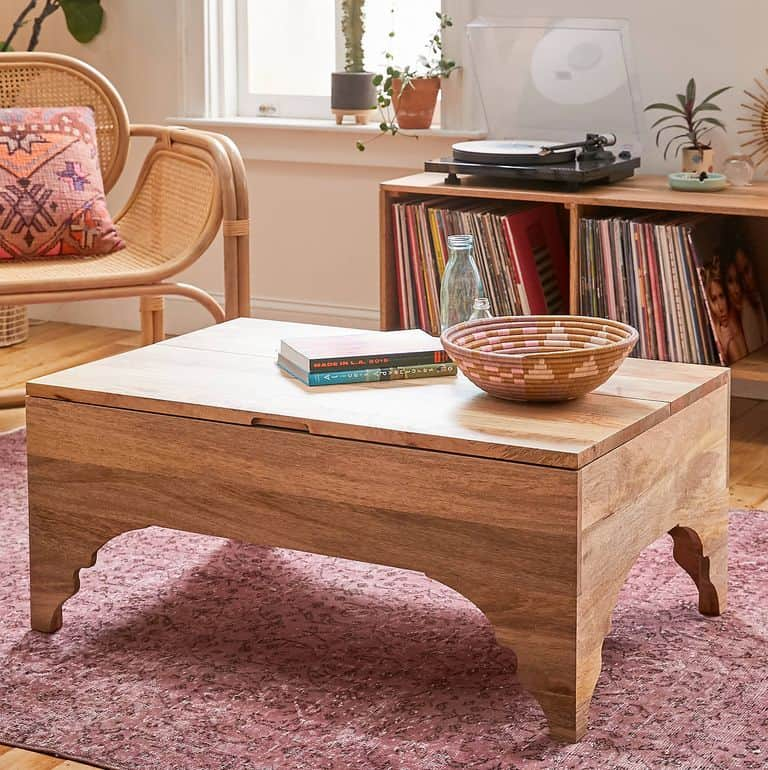 Simple Traditional Cool Coffee Table