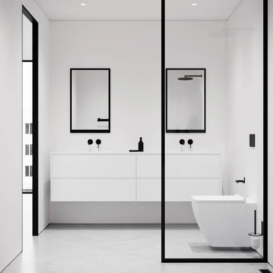 Slight Modern Shower