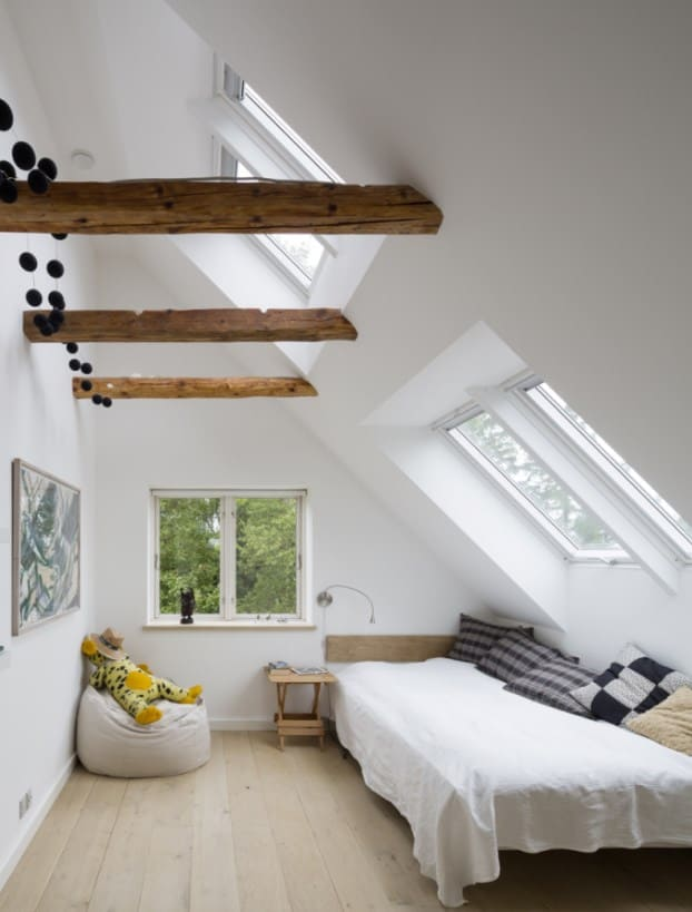 Sloped Wall Attic Bedroom Ideas