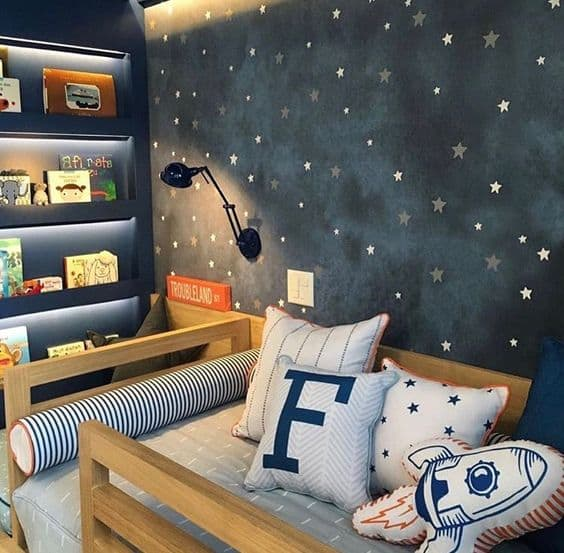 Small Space Themed Bedroom