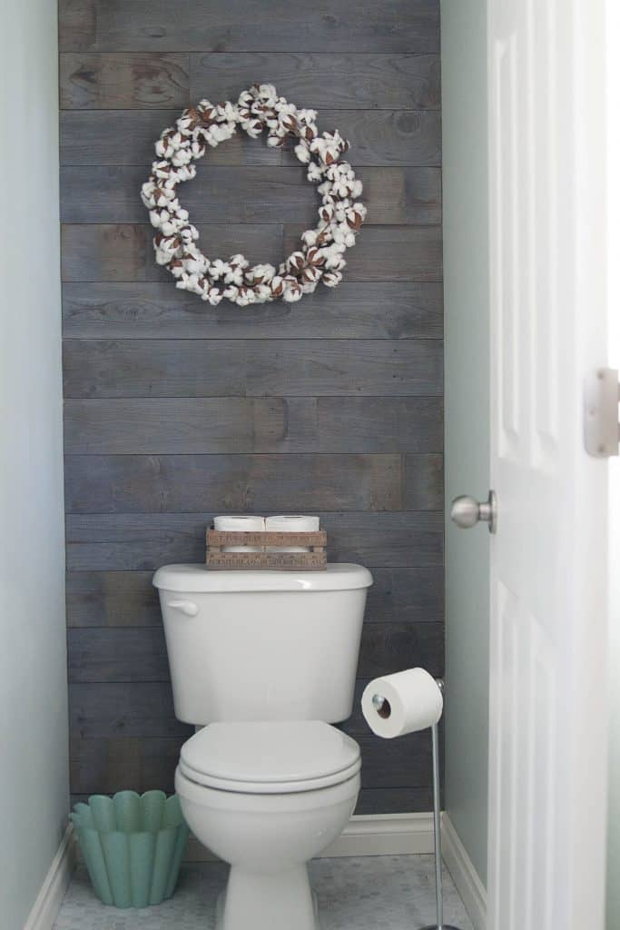 Small Wood Accent Wall Ideas