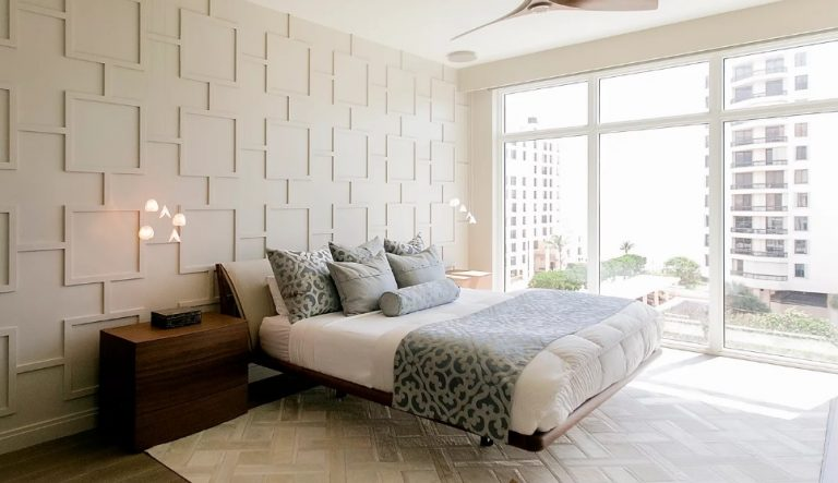 Soft Art Deco Bedroom