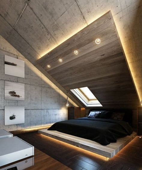 Sophisticated Attic Bedroom Ideas