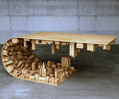 Sophisticated Cool Coffee Table