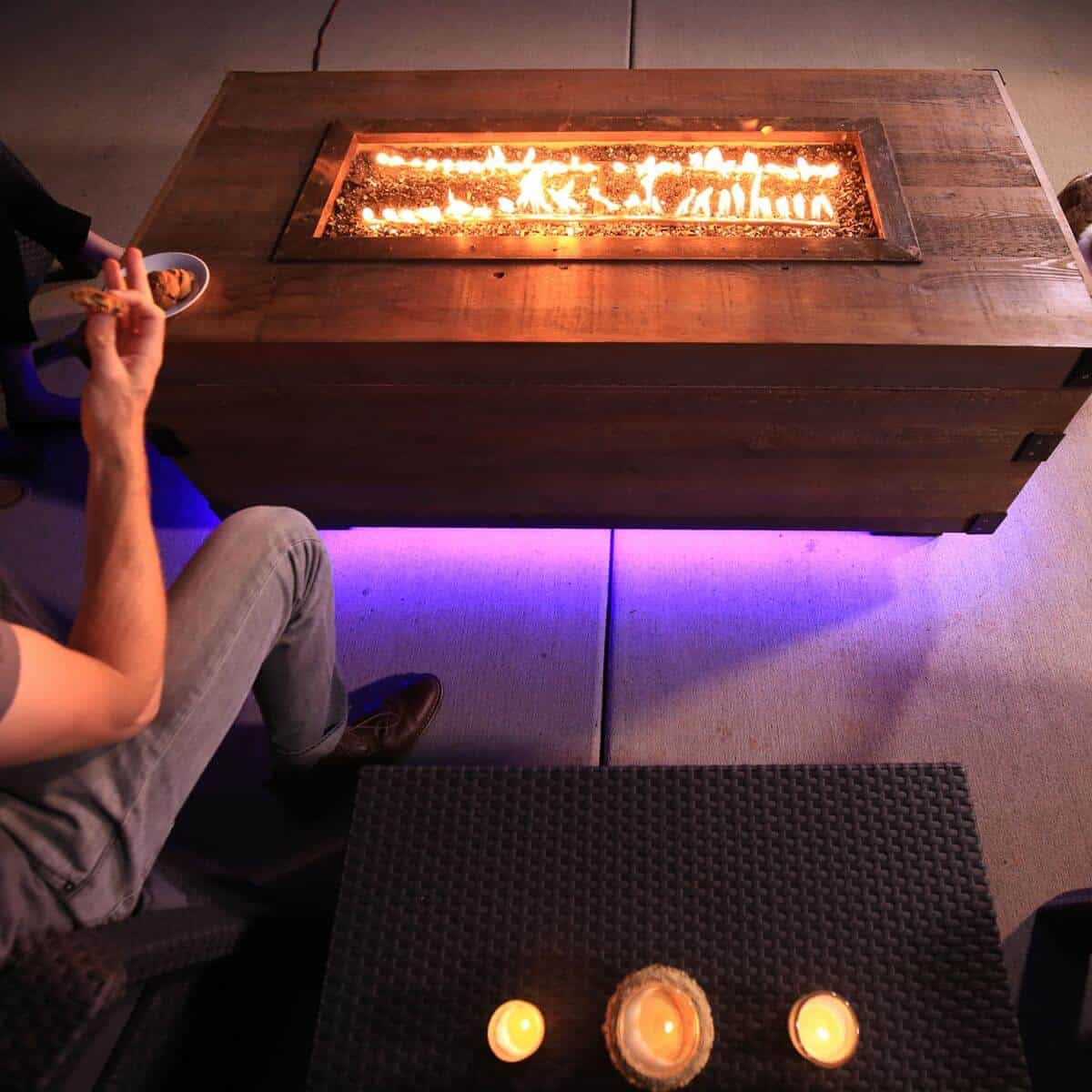 Sophisticated Fire Pit Box