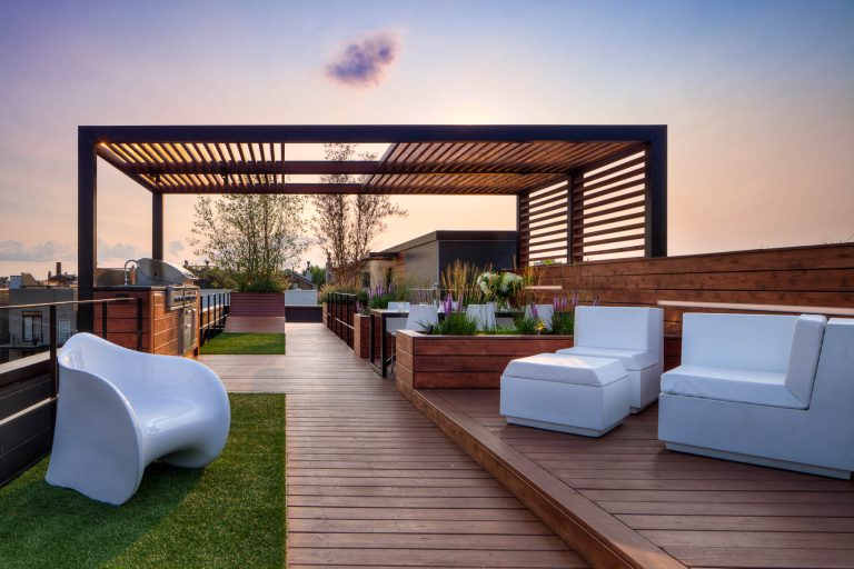 Sophisticated Rooftop Deck