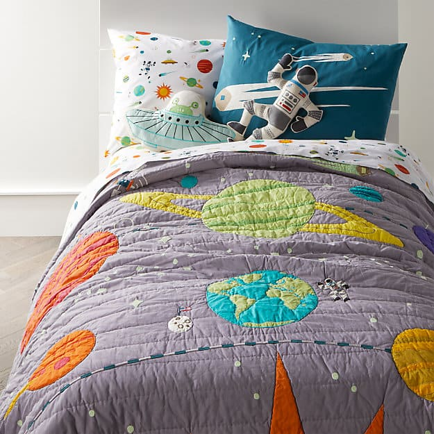 Space Themed Bedroom Bedding & Blankets