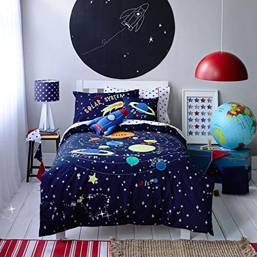 Space Themed Bedroom For Boys
