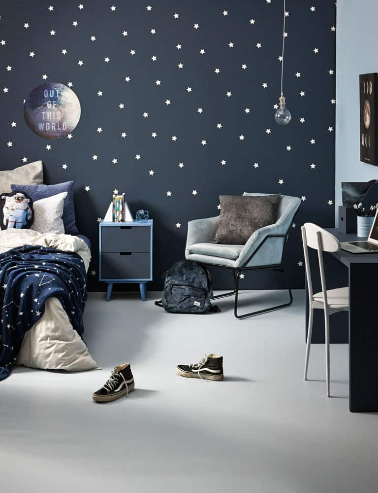 Space Themed Bedroom For Kids