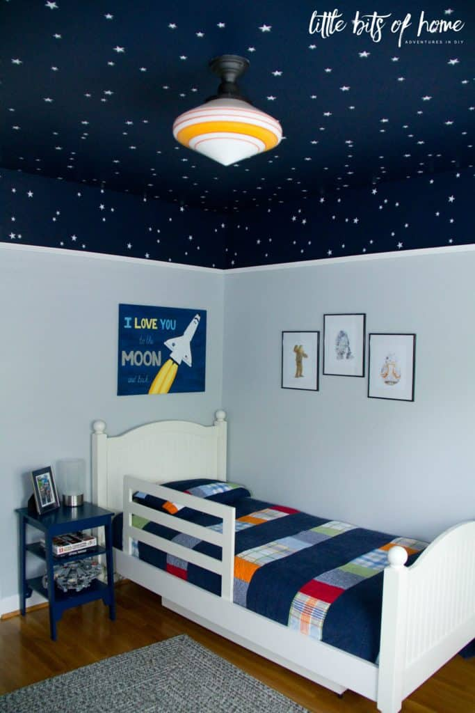 Space Themed Bedroom Reveal