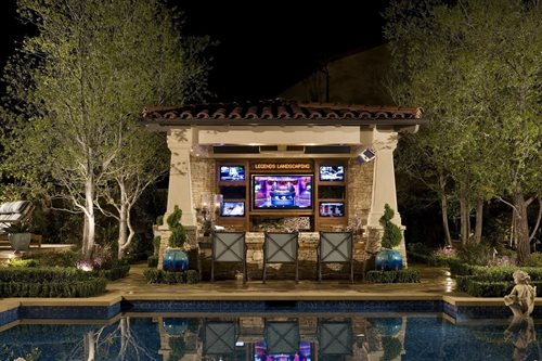 Sport Bar Pool Cabana Ideas