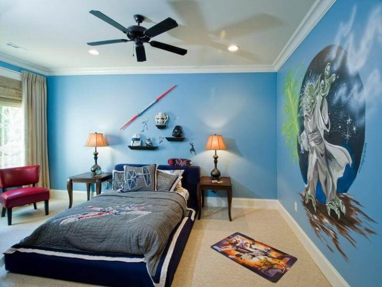 Star Wars Space Themed Bedroom