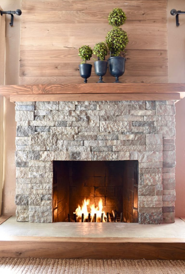Stone Fireplace Tiles for the Natural Look