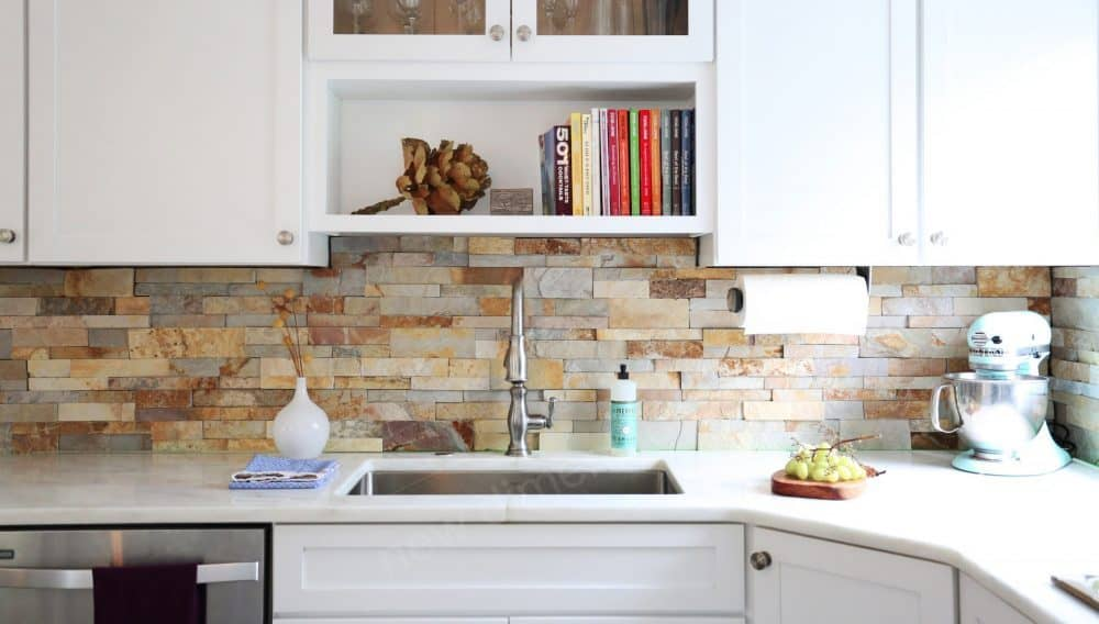 Stone Kitchen Backsplash Ideas