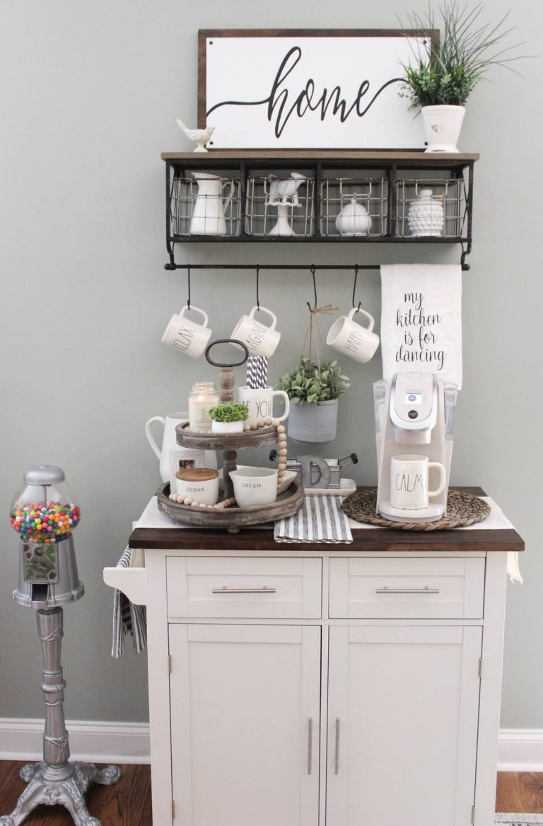 Stylish Coffee Bar Ideas
