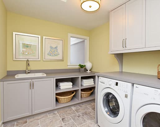 Sunny Laundry Room Paint Color