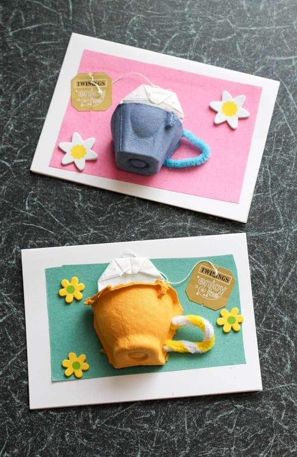 Tea Cup Card Mothers Day Signs