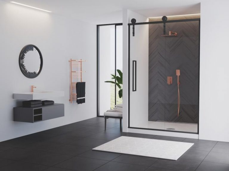 The Monochrome Modern Shower