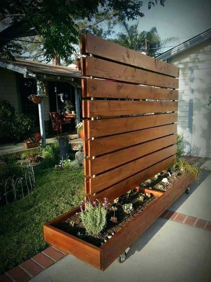 The Moveable Outdoor Privacy Screen