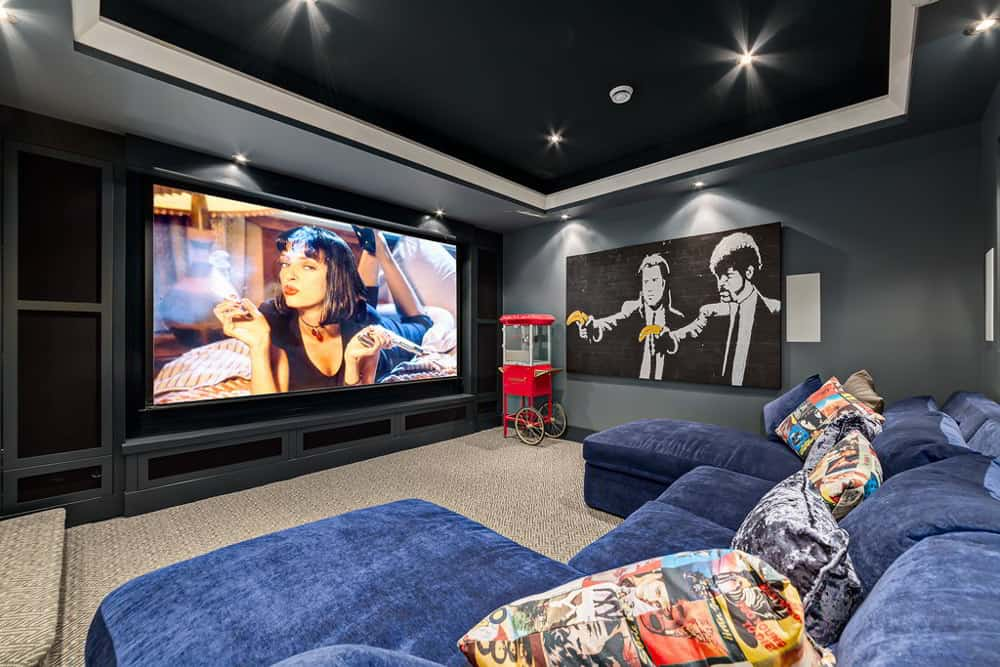 Theater Man Cave Ideas