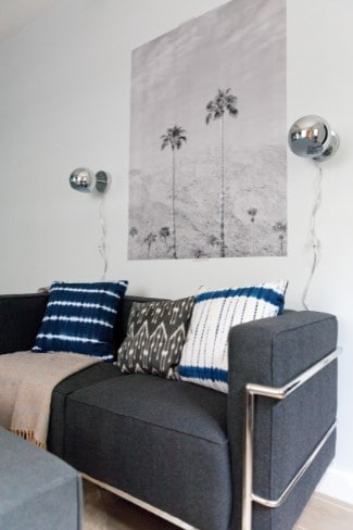 Tie Dye Pillow Ideas For A Gray Couch